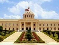Edificio del Palacio Nacional, donde estan las oficinas del gobierno central dominicano
