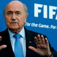 Joseph Blatter, renunciante presidente de la FIFA